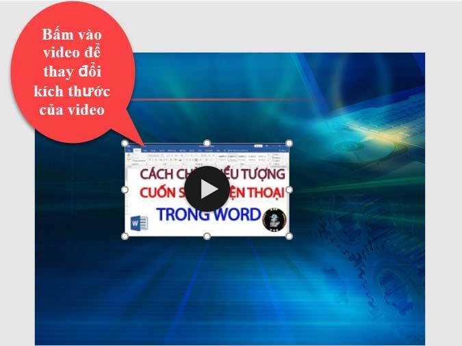 Video trên powerpoint