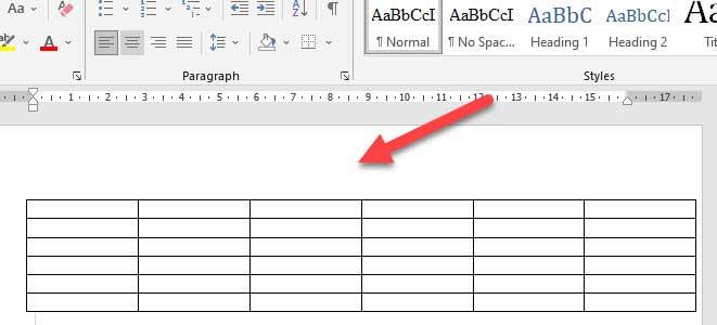 cách chỉnh kích thước dòng bằng nhau trong word